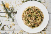 Rosemary Lentil Risotto